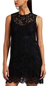 Dolce & Gabbana Women's Floral Lace A-Line Dress - Black