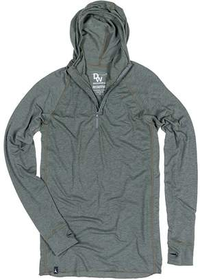 Duckworth Vapor Wool Snorkel Hooded Shirt - Men's