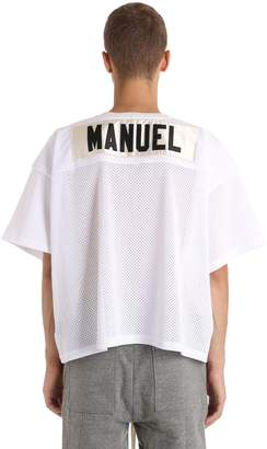 Fear Of God Printed Mesh T-Shirt