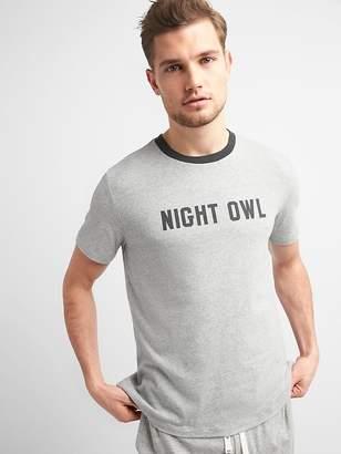 Gap Slogan Crewneck T-Shirt
