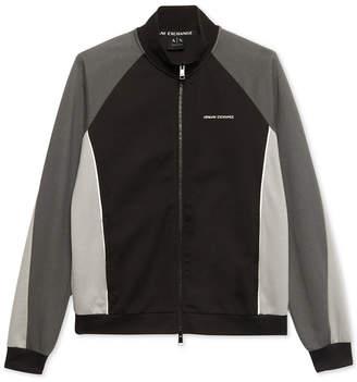 Armani Exchange Men's Lightweight Colorblocked Jacket