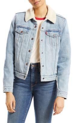 Levi's Original Faux Shearling Lined Trucker Jacket