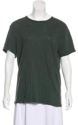 Rag & Bone Seamed Textured T-shirt