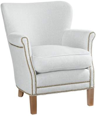 Serena & Lily Belgian Club Chair with Nailheads