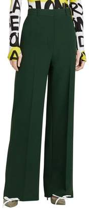 Burberry Stonewood Silk & Wool Pants