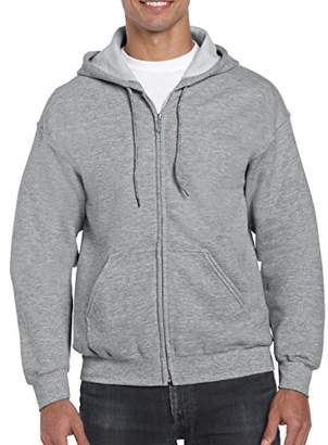 Gildan Men's Full Zip Hooded Sweatshirt