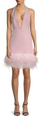 Milly Amy Feather Sheath Dress