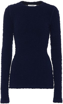 Jil Sander Cotton-blend top