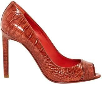 Santoni Leather heels