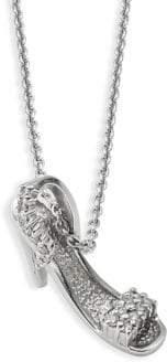 Roberto Coin 18K White Gold & Diamond Lady's Shoe Necklace