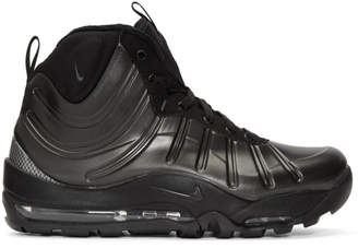 Nike Black Air Bakin Posite Sneakers