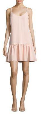 Trina Turk Crepe Drop-Waist Dress $258 thestylecure.com