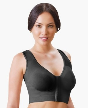 Annette Wireless Front Close Longline Recovery and Sleep Bra