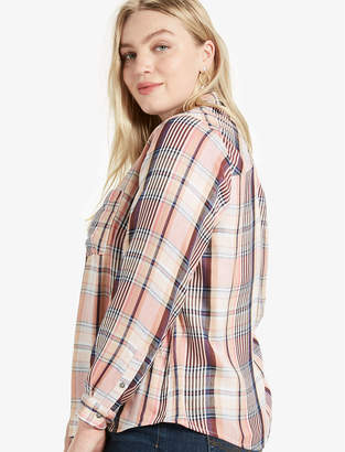 Lucky Brand DUO FOLD ARROW PLAID SHIRT