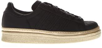 adidas Superstar 80's New Bold Black Leather Sneakers