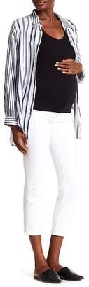 J Brand Mama J Cigarette Crop Jeans (Maternity)