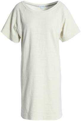 James Perse Slub Cotton-Jersey Mini Dress