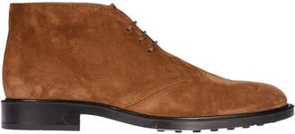 Tod's Tods Round Toe Ankle Boots