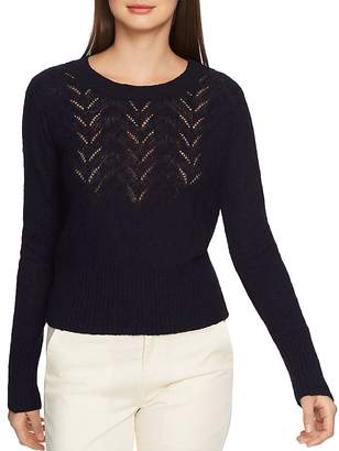 f6c890f1092 1 STATE 1.STATE Pointelle Detail Sweater