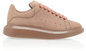 Alexander McQueen Low-Top Suede Sneakers