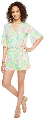 Lilly Pulitzer Madilyn Romper Women's Jumpsuit & Rompers One Piece