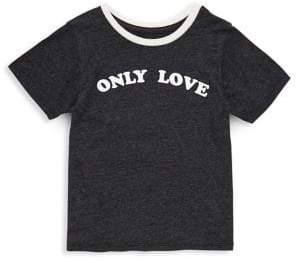 Spiritual Gangster Toddler's, Little Girl's & Girl's Only Love Cotton Tee