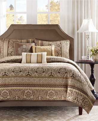 Madison Park Bellagio 6-Pc. Quilted King Coverlet Set Bedding