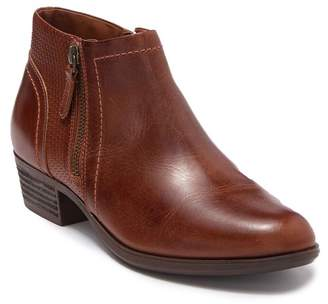 Rockport Oliana Panel Leather Ankle Bootie