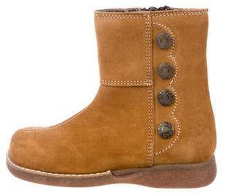 Dolce & Gabbana Girls' Suede Boots w/ Tags