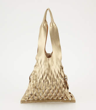 SLY (スライ) - Faux Leather Mesh Bag