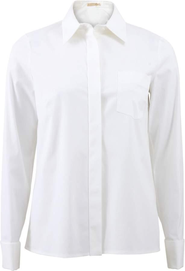 Michael kors french cuff poplin shirt shopstyle women French cuff shirt women