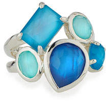 Ippolita 925 Rock Candy Multi-Stone Ring in Blue Star, Size 7