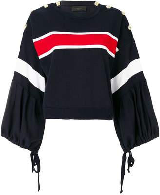 Lédition knitted crew neck sweater