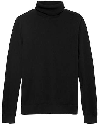 Banana Republic Italian Merino Wool Turtleneck Sweater