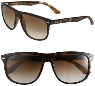 Ray-Ban Boyfriend 60mm Flat Top Sunglasses