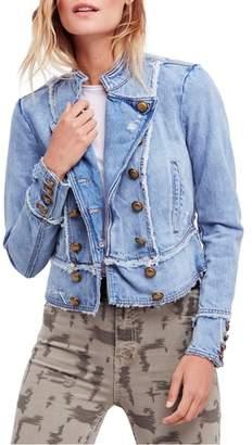 Free People Ferry Cotton Denim Jacket