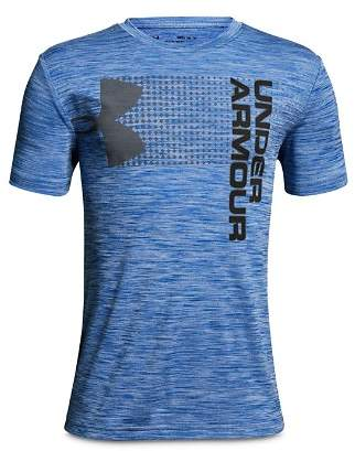 Under Armour Boys' Space-Dyed Logo Tee - Big Kid