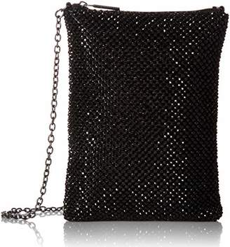 Jessica McClintock Gina Top Zip Mesh Evening Bag