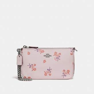 Coach Nolita Wristlet 19 With Floral Bow Print