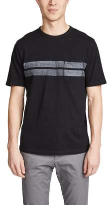 Faherty Twin Stripe Pocket T-Shirt