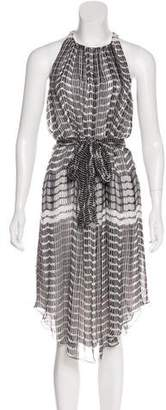 L'Agence Printed Sleeveless Dress