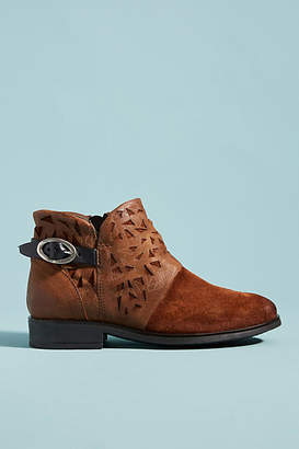 Miz Mooz Erie Short Buckle Boots