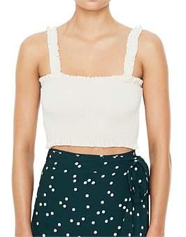 Faithfull The Brand Rowe Shirred Top