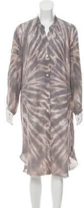 Raquel Allegra Silk Shirt Dress