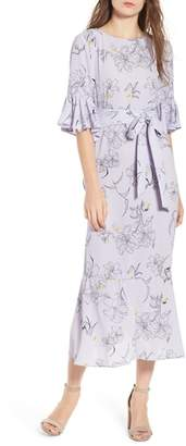 Chelsea28 Ruffle High/Low Dress