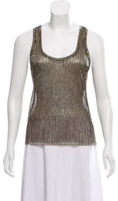 Nili Lotan Metallic Sleeveless Top w/ Tags