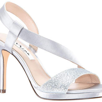 87fc6e3eb80 Nina Silver Platform Women s Sandals - ShopStyle