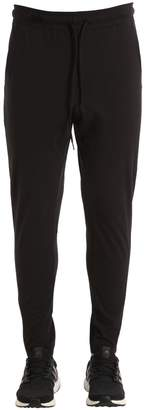 Y-3 Slim Fit Cotton Jersey Pants