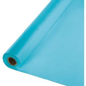Touch Of Color Bermuda Blue Banquet Table Roll
