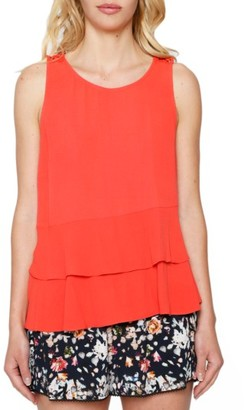Women's Willow & Clay Tiered Tank $69 thestylecure.com